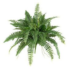 """Nearly Natural 6032-S2 40"""" Boston Fern (Set of 2) NEW"""