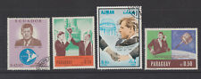 Paraguay, Ajman,Ecuador, 4  Briefmarken, Kennedy,