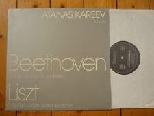 Beethoven Sonate C-dur op. 53 / Liszt Mephisto-Walzer Atanas Kareev LP RAR!