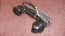 Old/Vintage Ex Military Telephone Receiver/Handset Marked TMC,AP 13220