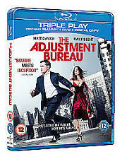 The Adjustment Bureau - Triple Play (Blu-ray + DVD )  Brand new and sealed