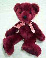 """Russ Bears from the Past RHAPSODY RED TEDDY BEAR 9"""" Plush STUFFED ANIMAL Toy NEW"""