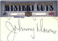 2008 UD SWEET SPOT MYSTERY CUTS AUTO: JOHNNY DOWNS #1/2 AUTOGRAPH