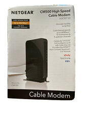 Netgear CM500 High Speed Cable Modem-680 Mbps-DOCSIS 3.0-New