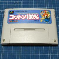 Magical Adventure Cotton 100% Nintendo Super Famicom SFC JAPANESE VERSION / GOOD