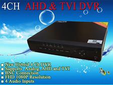 LexaCCTV Tribrid 4CH DVR for AHD TVI CVBS Analog Cameras HD/960H/FHD 4 Audio P2P