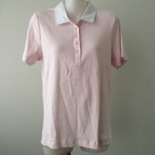 Regular Striped Polo Shirt Tops & Blouses for Women