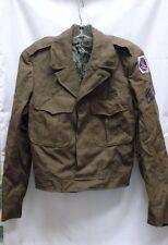 US ARMY WWII EISENHOWER IKE JACKET PANT GARRISON CAPS SHIRT SET 10th MOUNTAIN