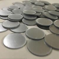 50pcs Circle Glass Mirror Mosaic Tiles DIY Home Artwork Decor Round Wall Decal