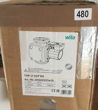 Wilo Top Z 50/7 RG 280mm 400V 2046639 Circulator Pump Red Brass #480