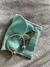 Fob Oval Tag Return to Tiffany's Tiffany & Co 925 key chain horseshoe