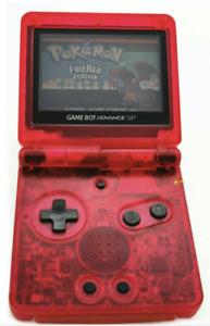 Nintendo Game Boy Advance GBA 001 SP Advance System Transparent Clear Pick Color