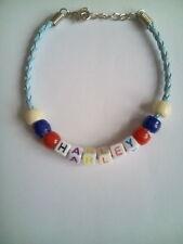HARLEY Ragazzi Nome braccialetto perline