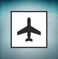 Sticker Car Aircraft Aviation Airport