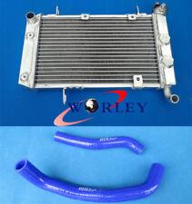 For SUZUKI LTZ400 KFX400 DVX400 03 04 05 06 07 08 Aluminum Radiator & Hose BLUE