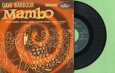 DAVE BARBOUR / Guitar Mambo / CAPITOL EAP 1-545 Pressing Spain 1955 EP VG+
