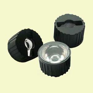 3x Linse 60° Optik Reflektor schwarz für 1W/3W LED