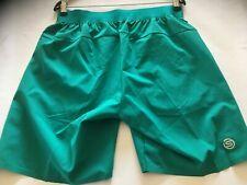 "Skins Mens SKINS Activewear Nore 8"" Shorts Pants Trousers Bottoms Lagoon SAMPLE"