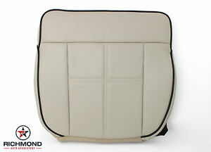 2006-2008 Lincoln Mark LT -Driver Side Bottom Replacement Leather Seat Cover Tan
