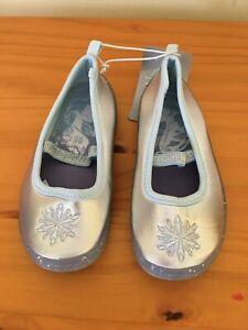NWT Disney Store Frozen 2 Elsa  Swim Shoes Water Shoes Pool Bathing