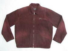 Polo Ralph Lauren Champaign color Corduroy Jacket Large Full Zip