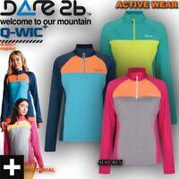 Dare2b Jacket Womens Fury Lightweight Sweater Hiking Running Gym Work Sport Top