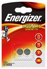 6x A76 LR44 13GA  Energizer Alkaline Alkani Mangan 1,5V 3x 2er Bli.