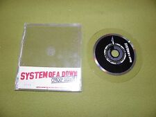 System Of A Down - Chop Suey! RARE Enhanced Limited Edition Clear CD Numbered