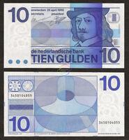 NETHERLANDS 10 Gulden 1968 P-91 UNC Uncirculated