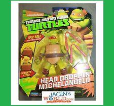 Michelangelo Head Droppin' : Teenage Mutant Ninja Turtles Basic Action Figures