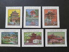 N.Vietnam 1968 - Ancient Architecture - MNH