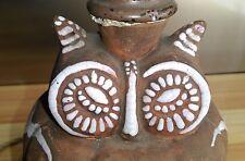 """ANCIENNE LAMPE EN CERAMIQUE ZOOMORPHE ART DECO 1930 """" CHOUETTE """" PRIMAVERA ?"""