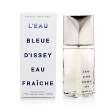 Issey Miyake L'eau Bleue D'issey Eau Fraiche Cologne 2.5 oz 75 ml EDT Spray Men