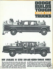 Dodge Crew Cab Trucks C200 D400 D500 D600 D700 W200 W500 Brochure