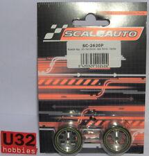 SCALEAUTO SC-2620P WHEEL FOAM 25.5x13mm RIM 21mm AXIS 3mm ALIG. PROCOMP 2