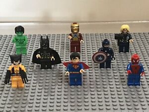 Marvel & DC Super Heroes Minifigures Lot
