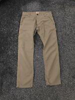Carharrt Men's Harvest Pant Work Trousers Brown W34 L32