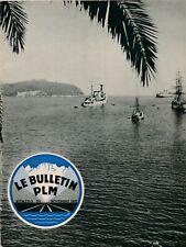 revue bulletin PLM n°54 / novembre 1937