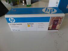 GENUINE 122A Q3962A HP Color LaserJet Yellow Toner Cartridge 2550 2820 2840 NEW