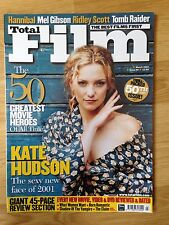 Total Film Magazine Issue #50 March 2001 - Kate Hudson cover
