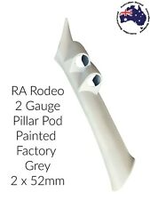 """to suit HOLDEN RODEO Double PILLAR POD """"NEW"""" PAINTED FACTORY GREY"""