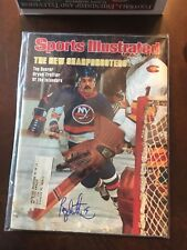 Bryan Trottier New York Islanders Autographed Signed Sports Illustrated SI Mag