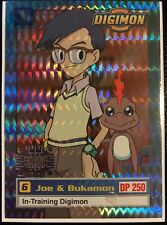 Joe & Bukamon Digimon Card Animated Series I Super Rare