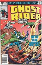 Ghost Rider Comic Book #39, Marvel Comics 1978 VERY FINE/NEAR MINT