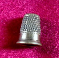 Tiny Vintage Brass Thimble - Just 15mm Tall