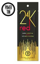 Power Tan 24K Red Blush Tingle Sunbed Tanning Accelerator Lotion Cream 20ml Pack