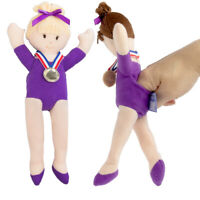 2pc Doll Gymnastics Finger Puppets for Kids Adults Plush Toys Cute Travel Toys