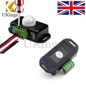 Automatic DC 12V-24V 8A Infrared PIR Motion Sensor Switch For LED Lamp light K
