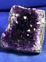 Amethyst Geode Quartz Extra Dark Cluster Cathedral Display Specimen from Uruguay