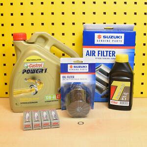 Suzuki GSX-S 750 17- Original Oil Filter Air Filter Plugs Oil Castrol P1 10w40